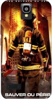 Save or perish Firemen fire soldiers Case for Huawei Y5 Y560