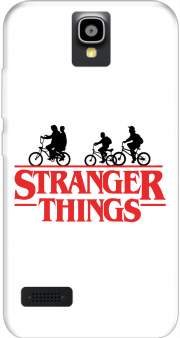 Stranger Things by bike Case for Huawei Y5 Y560