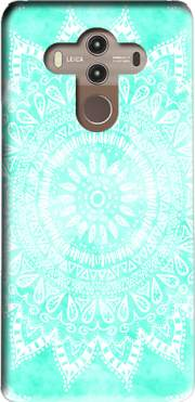 Mint Bohemian Flower Mandala Case for Huawei Mate 10 Pro