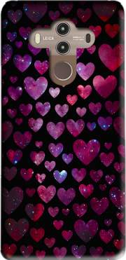Space Hearts Case for Huawei Mate 10 Pro