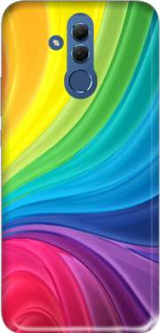 Rainbow Abstract Case for Huawei Mate 20 Lite