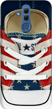All Star Basket shoes USA Case for Huawei Mate 20 Lite