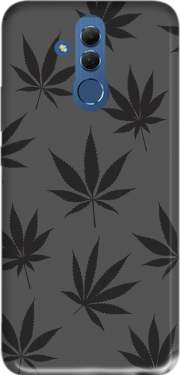 Cannabis Leaf Pattern Case for Huawei Mate 20 Lite