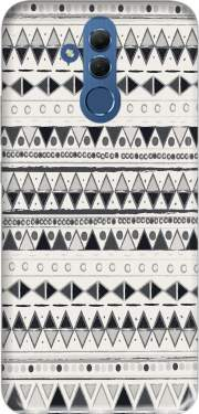 Ethnic Candy Tribal in Black and White Case for Huawei Mate 20 Lite