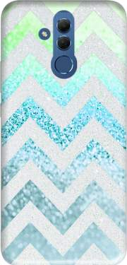 FUNKY CHEVRON BLUE Case for Huawei Mate 20 Lite