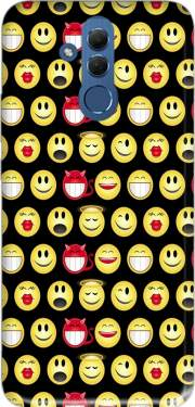 funny smileys Case for Huawei Mate 20 Lite