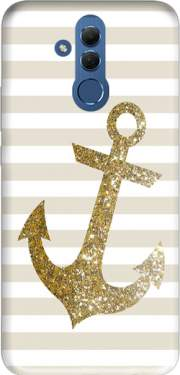 Gold Mariniere Case for Huawei Mate 20 Lite