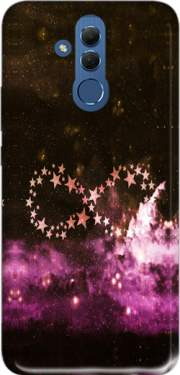 Infinity Stars purple Case for Huawei Mate 20 Lite