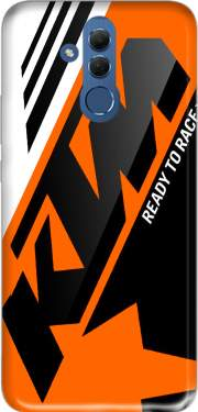 KTM Racing Orange And Black Case for Huawei Mate 20 Lite