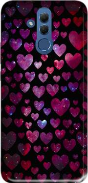 Space Hearts Case for Huawei Mate 20 Lite