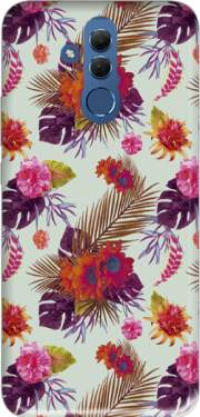 Tropical Floral passion Case for Huawei Mate 20 Lite