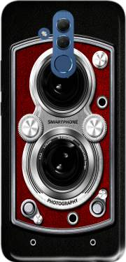 Vintage Camera Red Case for Huawei Mate 20 Lite