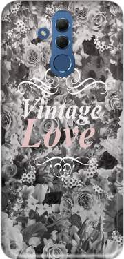 Vintage love in black and white Case for Huawei Mate 20 Lite