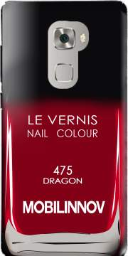 Nail Polish 475 DRAGON Case for Huawei Mate S