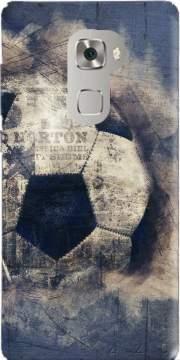 Abstract Blue Grunge Football Huawei Mate S Case