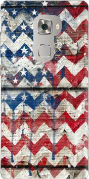 American Chevron Case for Huawei Mate S