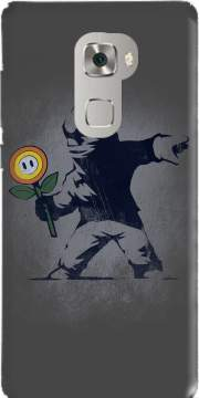 Banksy Flower bomb Case for Huawei Mate S