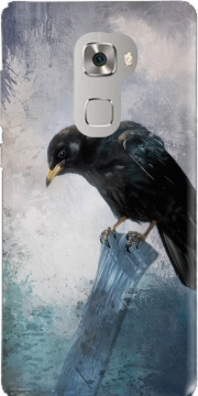 Black Crow Huawei Mate S Case