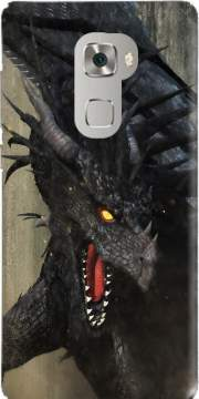 Black Dragon Huawei Mate S Case