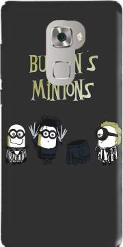 Burton's Minions Case for Huawei Mate S
