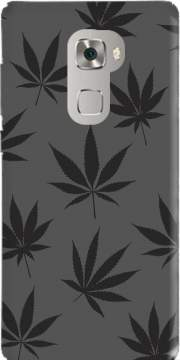Cannabis Leaf Pattern Case for Huawei Mate S