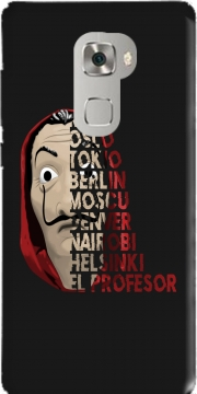 Casa de Papel Mask Vilain Case for Huawei Mate S