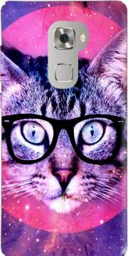 Cat Hipster Case for Huawei Mate S