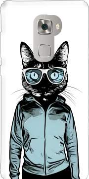 Cool Cat Huawei Mate S Case