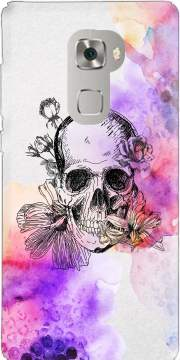 Color skull Case for Huawei Mate S