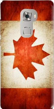 Canadian Flag Vintage Case for Huawei Mate S