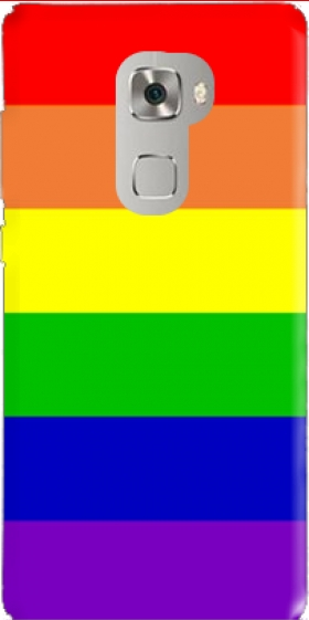 Case Flag Gay Rainbow for Huawei Mate S