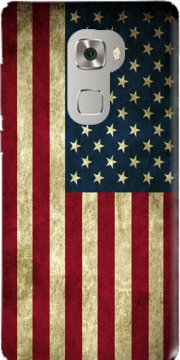Flag USA Vintage Case for Huawei Mate S