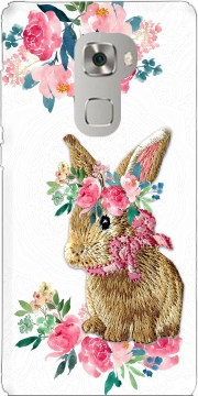 Flower Friends bunny Lace Huawei Mate S Case
