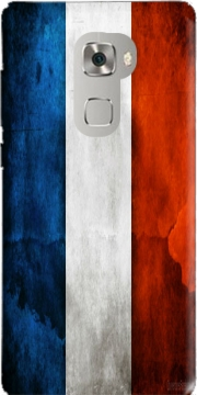 Flag France Vintage Case for Huawei Mate S