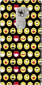 funny smileys Case for Huawei Mate S