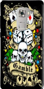 Love Gamble And Poker Case for Huawei Mate S