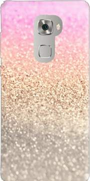 Gatsby Glitter Pink Case for Huawei Mate S