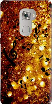 Golden Music Case for Huawei Mate S
