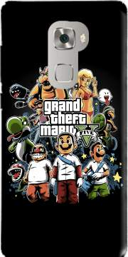 Grand Theft Mario Case for Huawei Mate S