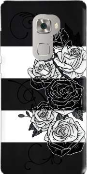 Inverted Roses Huawei Mate S Case