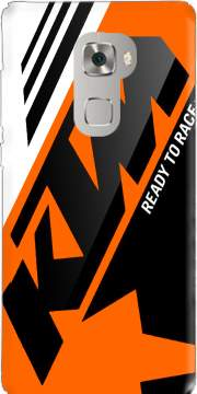 KTM Racing Orange And Black Case for Huawei Mate S