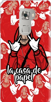 La casa de papel clipart Case for Huawei Mate S