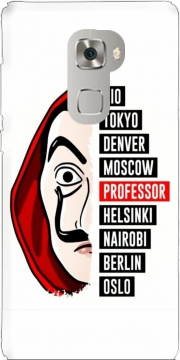 La casa de papel Dali Case for Huawei Mate S