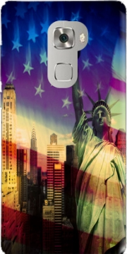 Statue of Liberty Case for Huawei Mate S