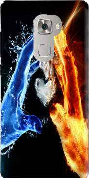 Love duet Ice and Flame Case for Huawei Mate S