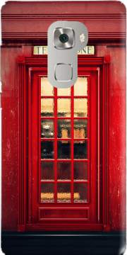 Magical Telephone Booth Case for Huawei Mate S