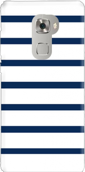Case Marinière Blue / White for Huawei Mate S