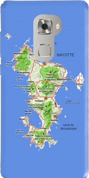 Mayotte Carte 976 Huawei Mate S Case