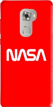 Nasa Red Logo Fail Case for Huawei Mate S