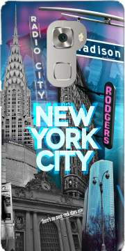 New York City II [blue] Case for Huawei Mate S